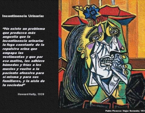 Pablo Picasso Mujer llorando