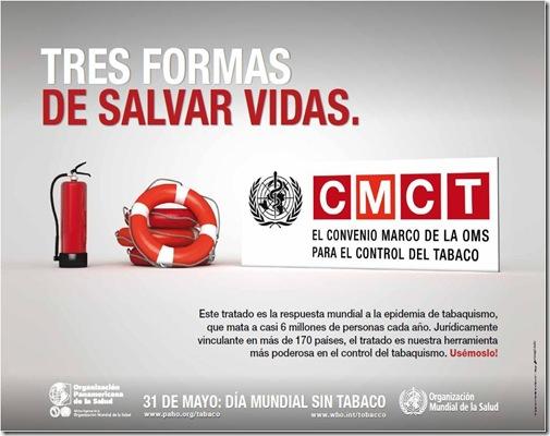 poster Día Mundial sin Tabaco 2011