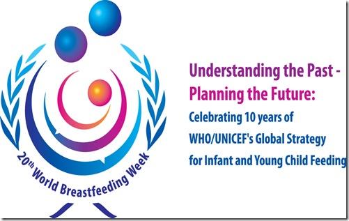 Día Mundial: Lactancia Materna